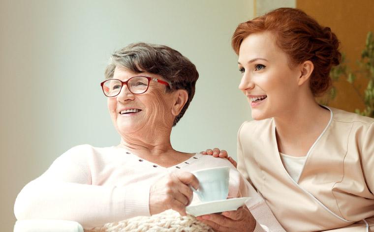 Pflege zu Hause auf sie abgestimmt